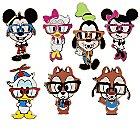 Mickey Mouse Mini Pin Set - Nerds