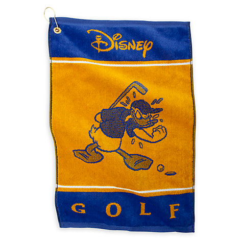 Donald Duck Golf Towel