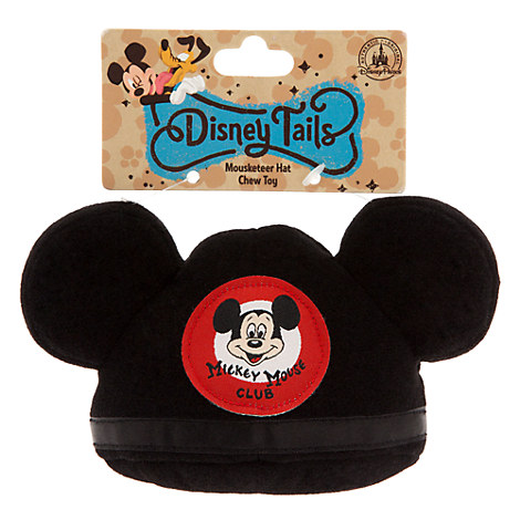 The Mickey Mouse Club Mouseketeer Ear Hat Pet Chew Toy
