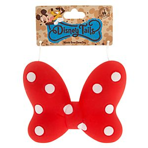 Minnie Mouse Bow Pet Chew Toy