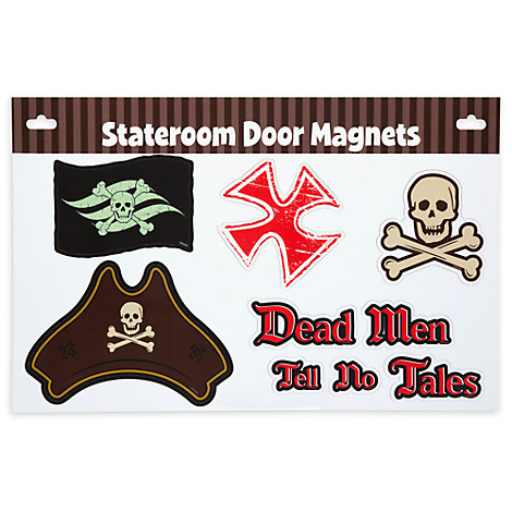 Pirates of the Caribbean Stateroom Door Magnets - Disney Cruise Line