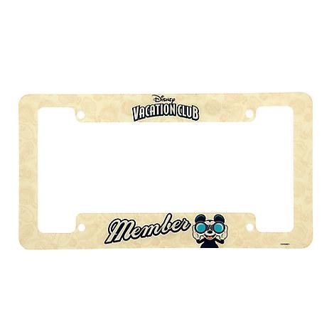 Disney Vacation Club Member License Plate Frame