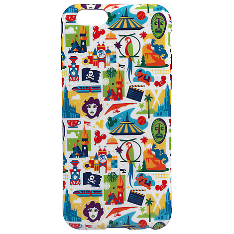 Disneyland Resort Icons iPhone 6 Case