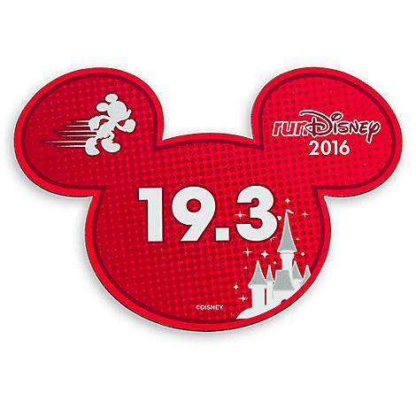 Mickey Mouse runDisney 2016 Magnet - 19.3