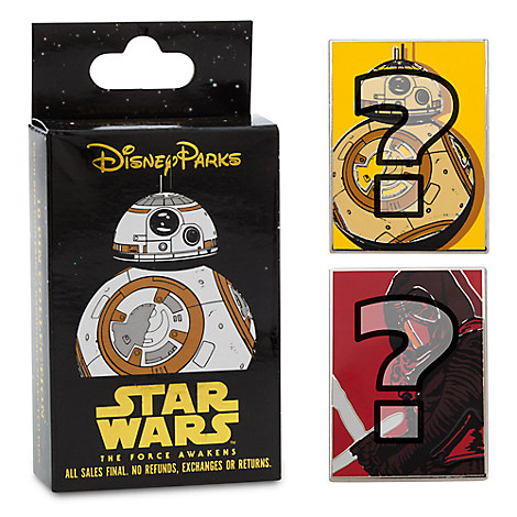 Star Wars: The Force Awakens Mystery Pin Set
