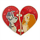 Lady and the Tramp ''Broken Heart'' Pin Set