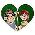 Carl and Ellie ''Broken Heart'' Pin Set - Up