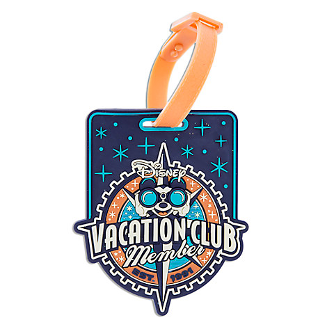 Disney Vacation Club Luggage Tag