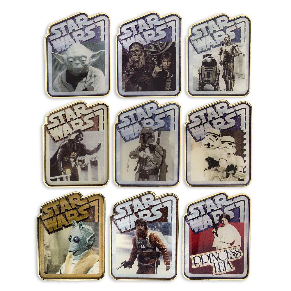 Star Wars Mystery Pin Set