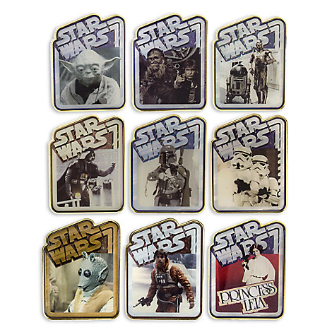 Star Wars Mystery Pin Set