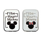 Mickey and Minnie Mouse Icon Pin Set