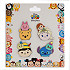 Disney ''Tsum Tsum'' Pin Trading Booster Set