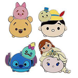 Disney ''Tsum Tsum'' Pin Trading Booster Set