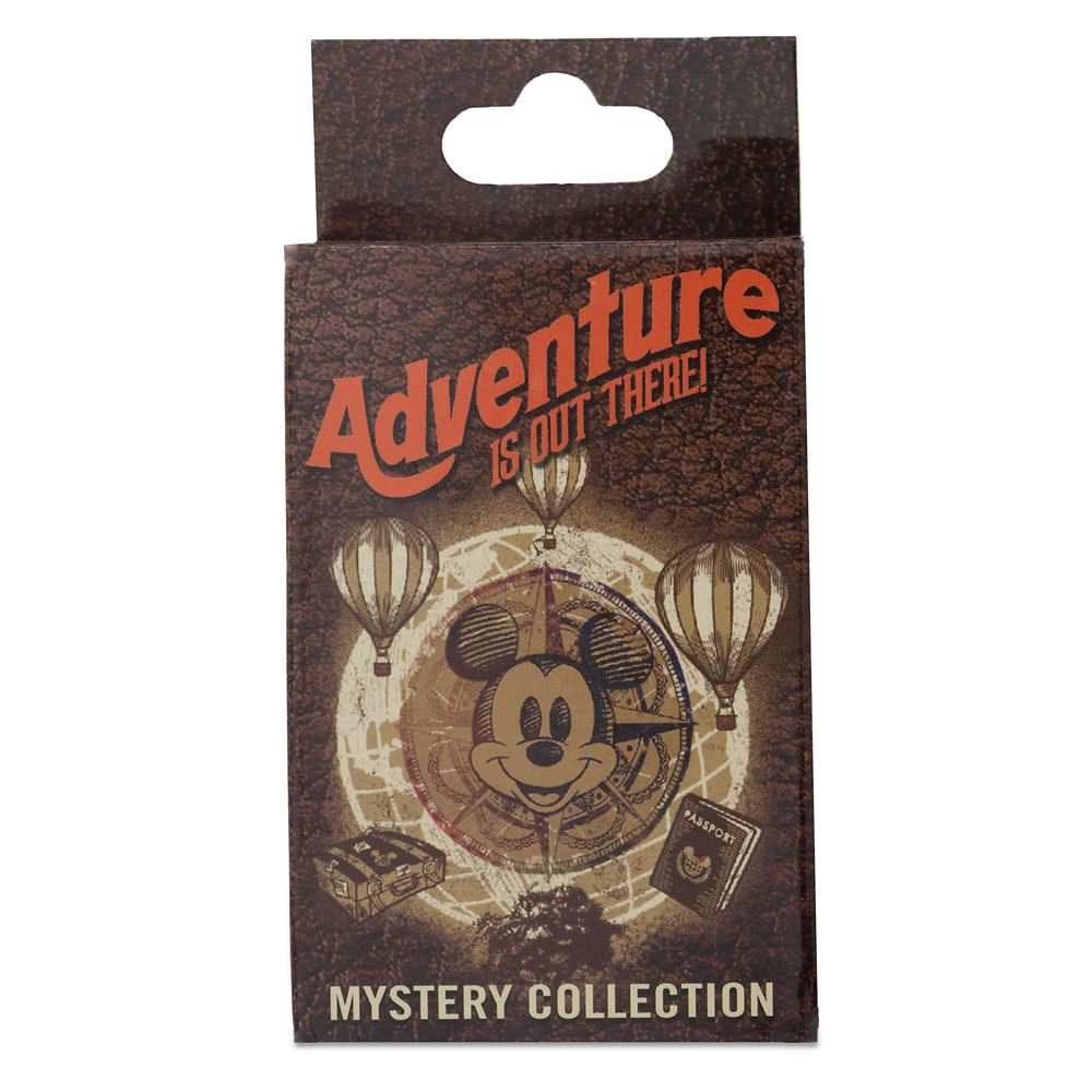 Disney ''Adventure is Out There'' Mystery Pin Set