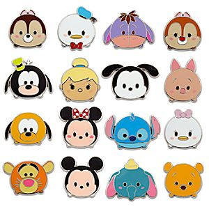 Disney ''Tsum Tsum'' Mystery Pin Pack