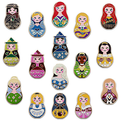 Disney ''Nesting Dolls'' Mystery Pin Pack