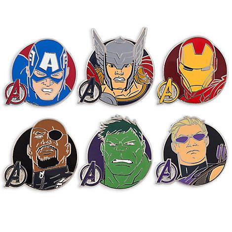 Marvel's Avengers Assemble Pin Trading Booster Set