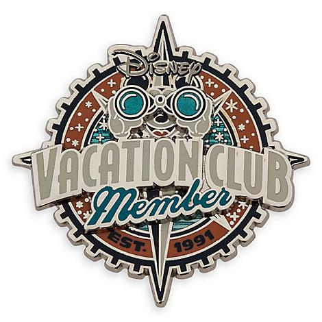 Mickey Mouse Disney Vacation Club Pin