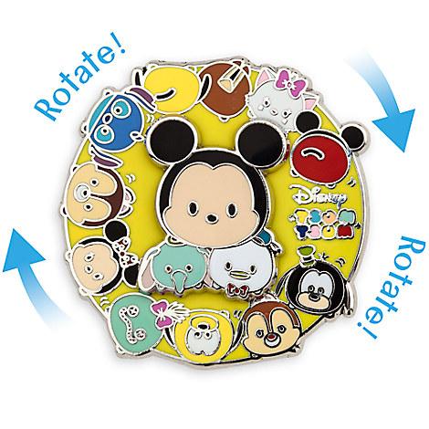 Disney ''Tsum Tsum'' Spinner Pin