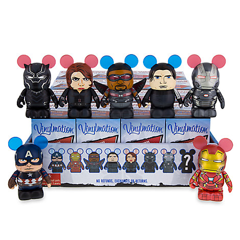 Vinylmation Captain America: Civil War Series Tray
