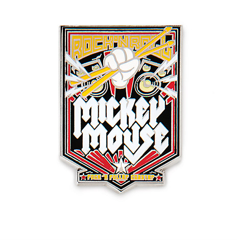 Mickey Mouse Rock 'n Roller Coaster Pin