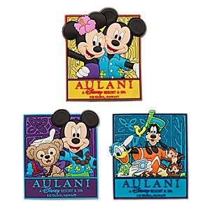 Mickey Mouse and Friends Magnet Set - Aulani, A Disney Resort & Spa