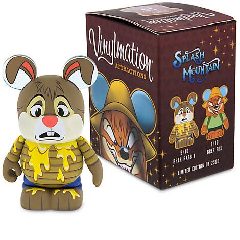 Br'er Rabbit and Br'er Fox 3'' Eachez Figure - Splash Mountain - Limited Edition