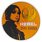 Sergeant Jyn Erso Pin - Rogue One: A Star Wars Story