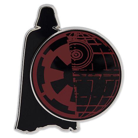 Darth Vader Death Star Pin - Star Wars