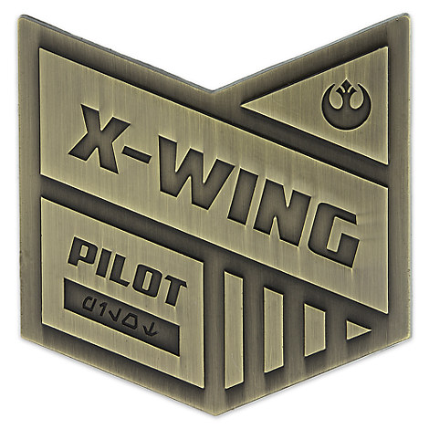 X-Wing Pilot Pin - Star Wars