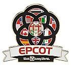 Epcot Center Icon Pin - Walt Disney World