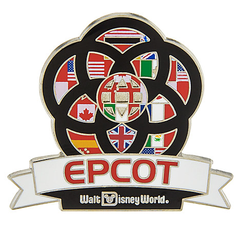 Epcot Center Icon Pin - Walt Disney World