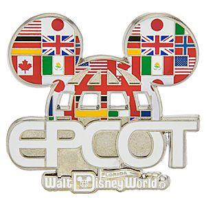 Epcot Ear Hat Logo Pin - Walt