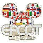 Epcot Ear Hat Logo Pin - Walt Disney World