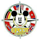 Mickey Mouse Compass Epcot Logo Pin - Walt Disney World