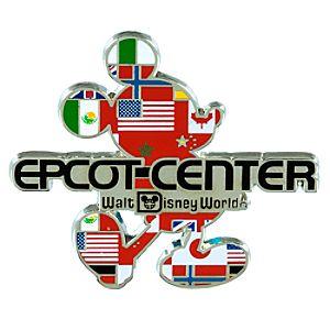 Mickey Mouse Silhouette Epcot Center Logo Pin – Walt Disney World