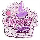 Disney Parks Magic Pin - 2017