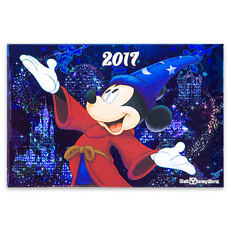 Sorcerer Mickey Mouse Photo Album - Walt Disney World 2017 - Small