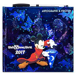 Sorcerer Mickey Mouse and Friends Autograph Book - Walt Disney World 2017