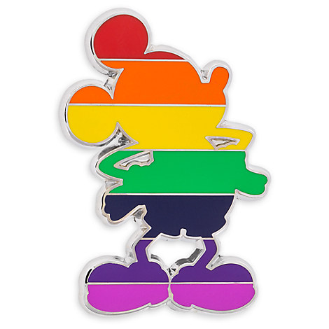 Mickey Mouse Rainbow Standing Pin