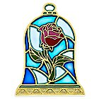 Beauty and the Beast Stained Glass Pin