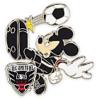 Mickey Mouse Major League Soccer Pin - D.C. United