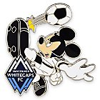Mickey Mouse Major League Soccer Pin - Vancouver Whitecaps FC