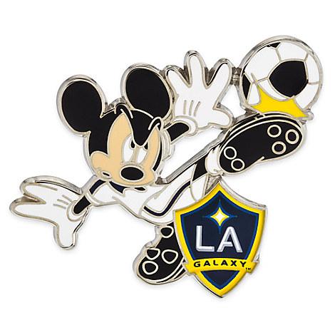 Mickey Mouse Major League Soccer Pin - LA  Galaxy