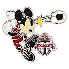 Mickey Mouse Major League Soccer Pin - Toronto FC