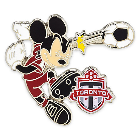 Mickey Mouse Major League Soccer Pin - Toronto FC