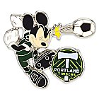 Mickey Mouse Major League Soccer Pin - Portland Timbers