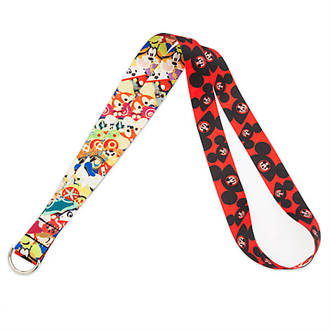 Mouseketeer Ear Hat Lanyard
