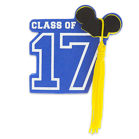 Mickey Mouse Graduation Antenna Topper