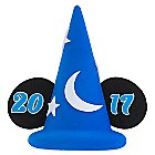 Sorcerer Mickey Mouse Hat 2017 Antenna Topper